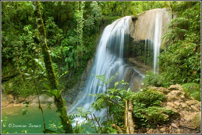 Puerto Rico - waterfalls